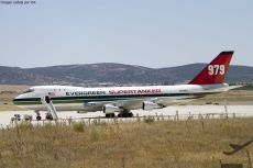 747 evergreen supertanker aeropuerto ciudad real