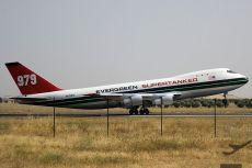 747 evergreen supertanker aeropuerto ciudad real