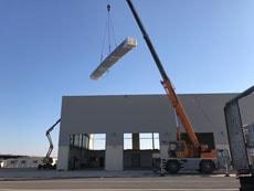 prosiguen obras reparación terminal handling aeropuerto ciudad real